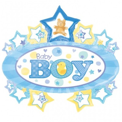 Balon folie figurina It's a Boy