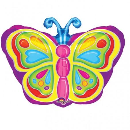 Balon folie figurina 45 cm Fluture