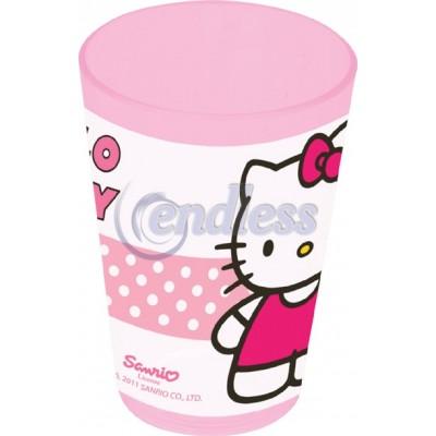 Pahar 24 cl Hello Kitty Tulip