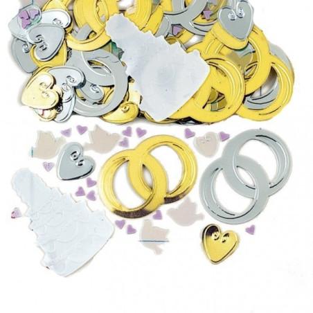 Confetti masa clopotei nunta