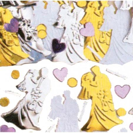 Confetti masa mire si mireasa nunta