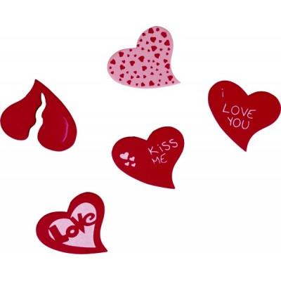 Confetti inimioare cu mesaje