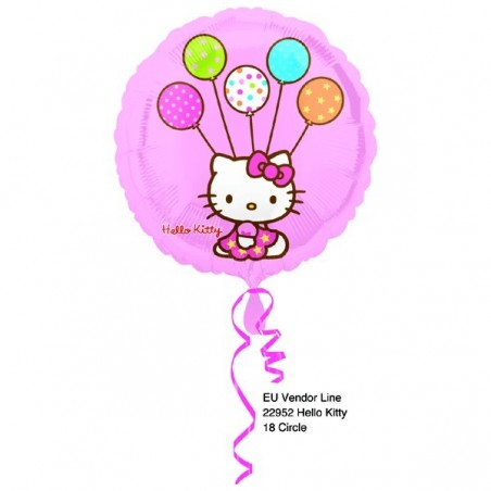 Balon folie 45 cm Hello Kitty