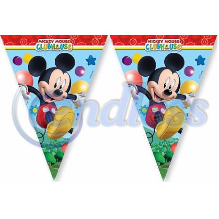 Banner 11 stegulete decupate Mickey Playful