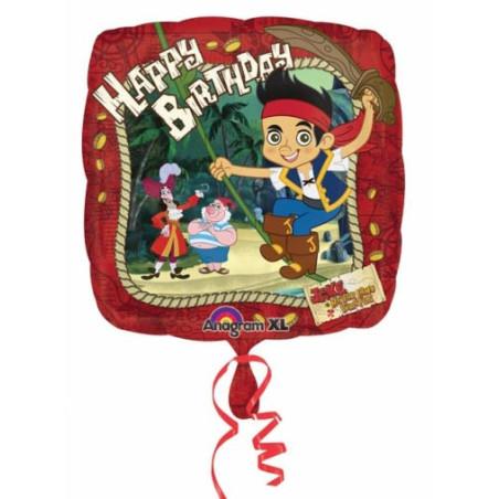 Balon folie 45 cm Jake Happy Birthday