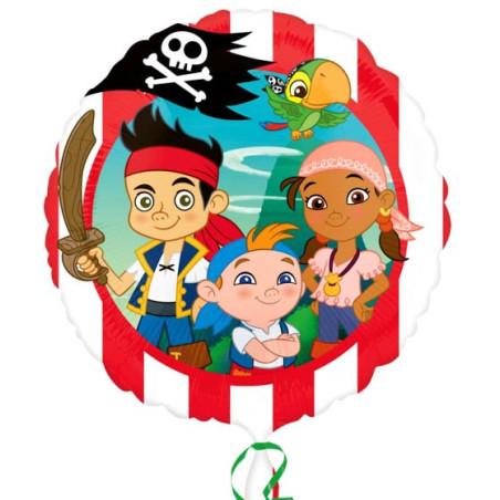 Balon folie 45 cm Jake si Piratii Neverlands