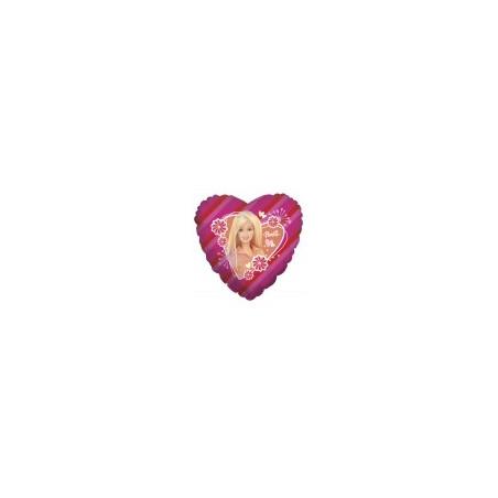 Balon folie 45 cm Barbie heart
