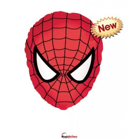 Balon folie 45 cm Spiderman Mask