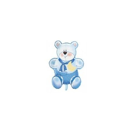 Balon folie Teddy Blue