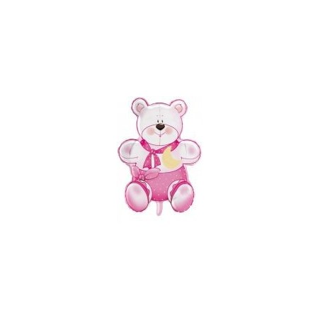 Balon folie Teddy Pink