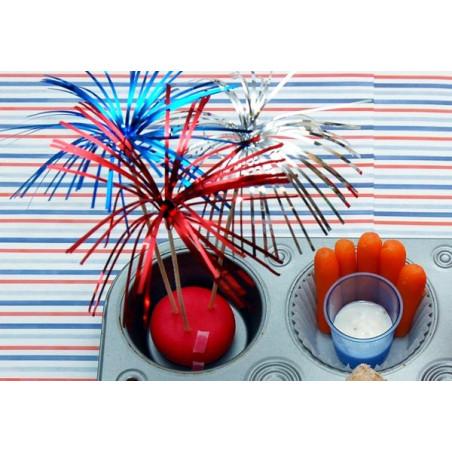 Set 200 decoratiuni cocktail palmieri - diverse culori