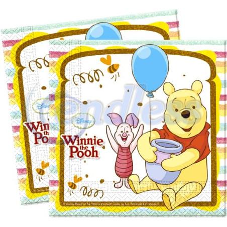 Set 20 servetele party Winnie Sweet Tweets