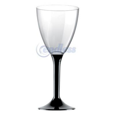 Set 6 pahare negre pentru vin
