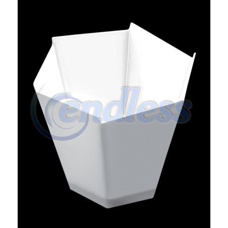 Set 25 cupe albe gardenia 100 cc