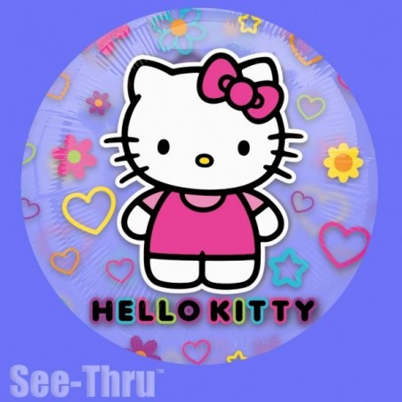 Balon folie transparenta Hello Kitty Tween