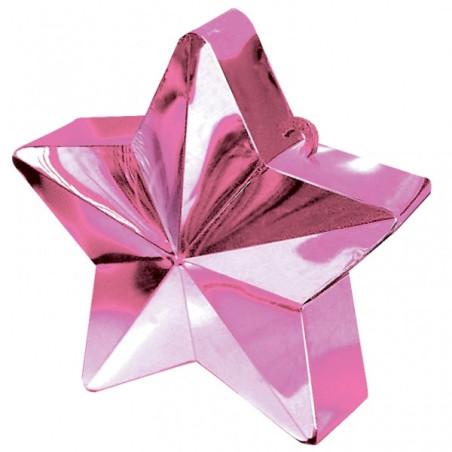 Greutate pentru baloane forma stea Roz