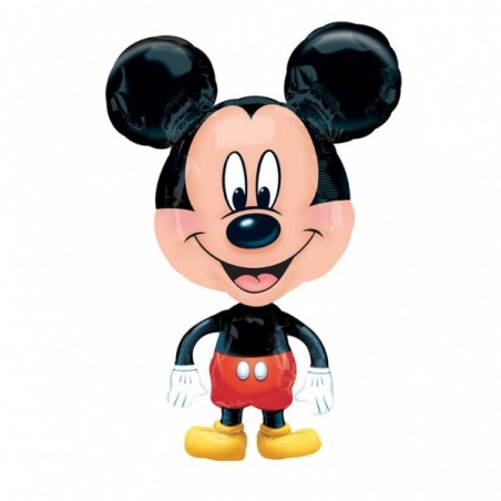 Balon folie Mini Airwalker Mickey Mouse