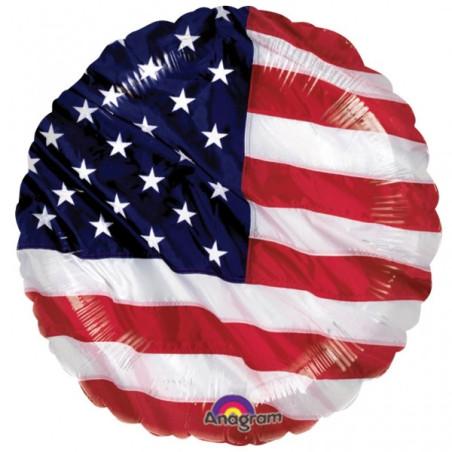 Balon folie 45 cm Steagul Americii