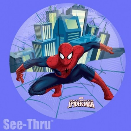 Balon folie transparenta Spiderman