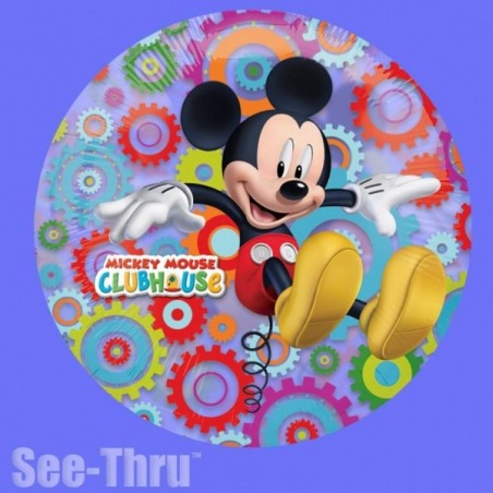 Balon folie transparenta Mickey