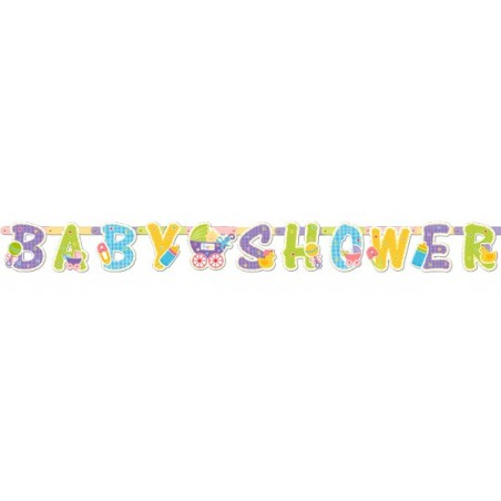 Banner botez Baby Shower