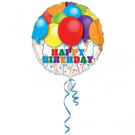 Balon folie 45 cm Baloane Happy Birthday