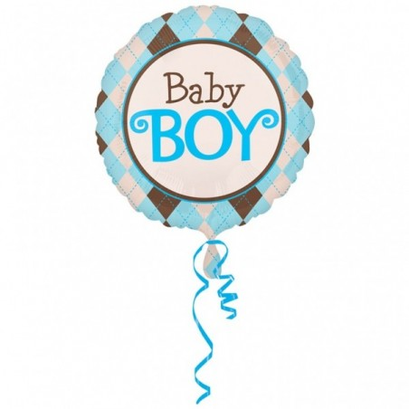 Balon folie jumbo 81 cm Baby Boy