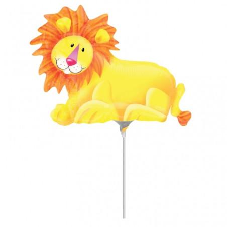 Balon mini figurina Leu Jungle Party