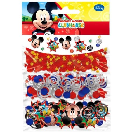 Set 3 pungute confetti pentru masa Mickey Mouse