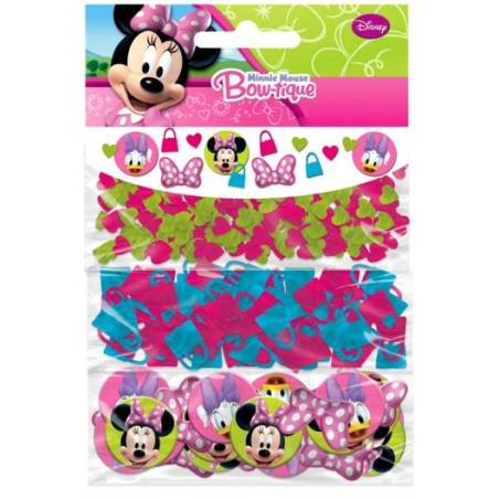 Set 3 pungute confetti pentru masa Minnie Mouse