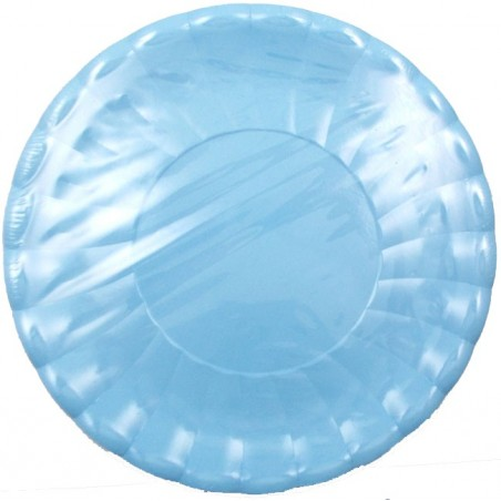 Set 10 platouri carton bleu 29 cm