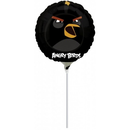 Balon mini folie Angry Birds - Black Bird
