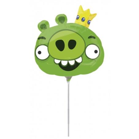 Balon mini figurina King Pig