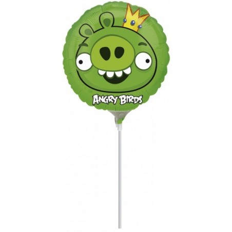 Balon mini folie Angry Birds - King Pig