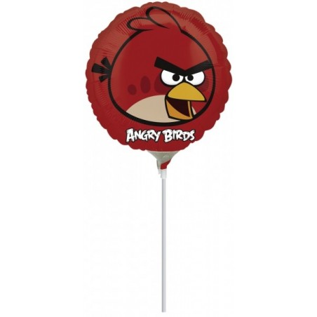 Balon mini folie Angry Birds - Red Bird