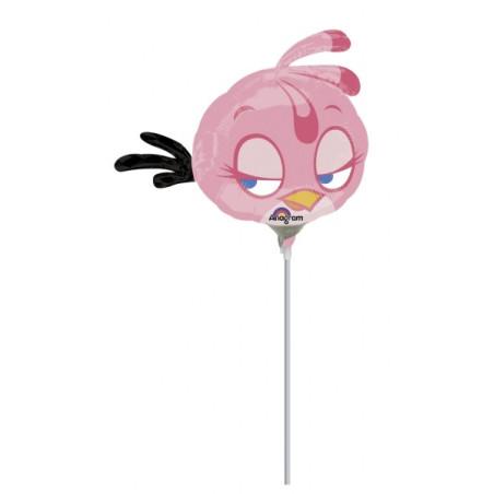 Balon mini figurina Pink Bird