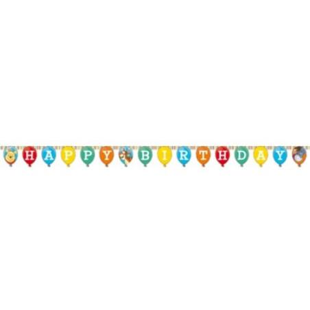 Banner Happy Birthday Winnie Sweet Tweets