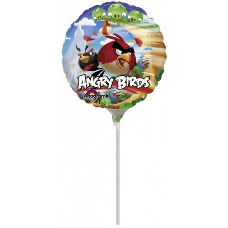 Balon mini folie Angry Birds