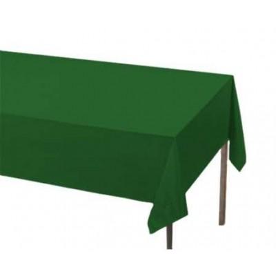 Fata de masa verde din hartie, la rola