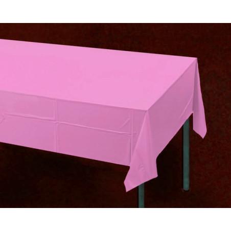Fata de masa roz din hartie, la rola