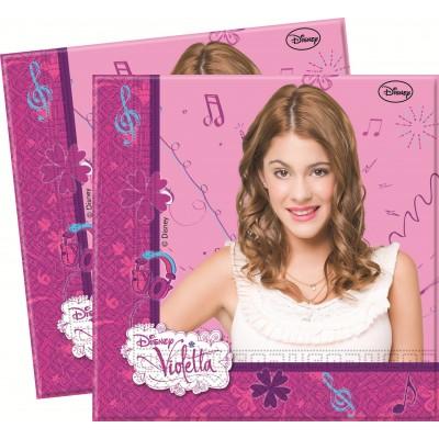 Set 20 servetele Violetta