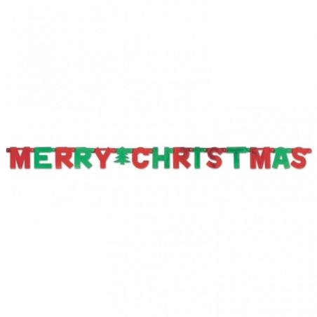 Banner litere Merry Christmas