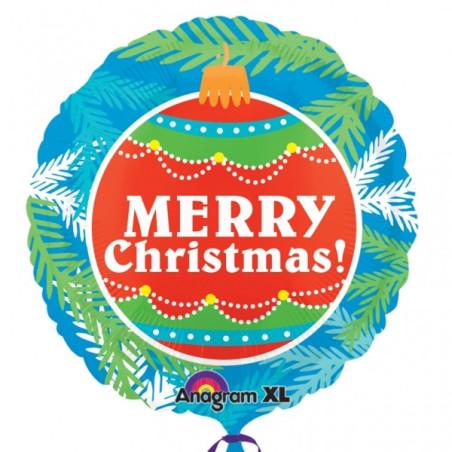 Balon folie Merry Christmas 53 cm