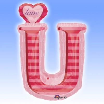 Balon folie figurina Love U