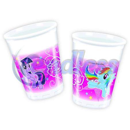 Set 8 pahare Little Pony Sparkle