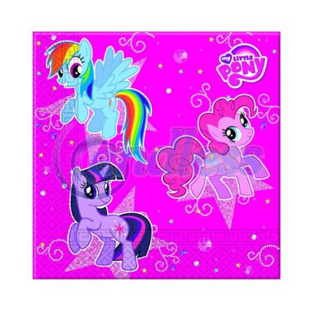 Set 20 servetele Little Pony Sparkle