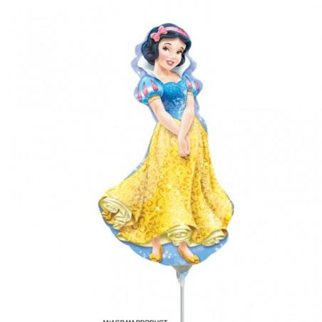 Balon mini figurina Alba ca Zapada