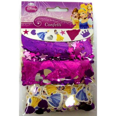 Set 3 pungute confetti pentru masa Princess