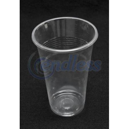 Set 50 pahare plastic transparente 250 cc