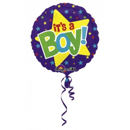 Balon folie It's A Boy Colorblast, 53 cm
